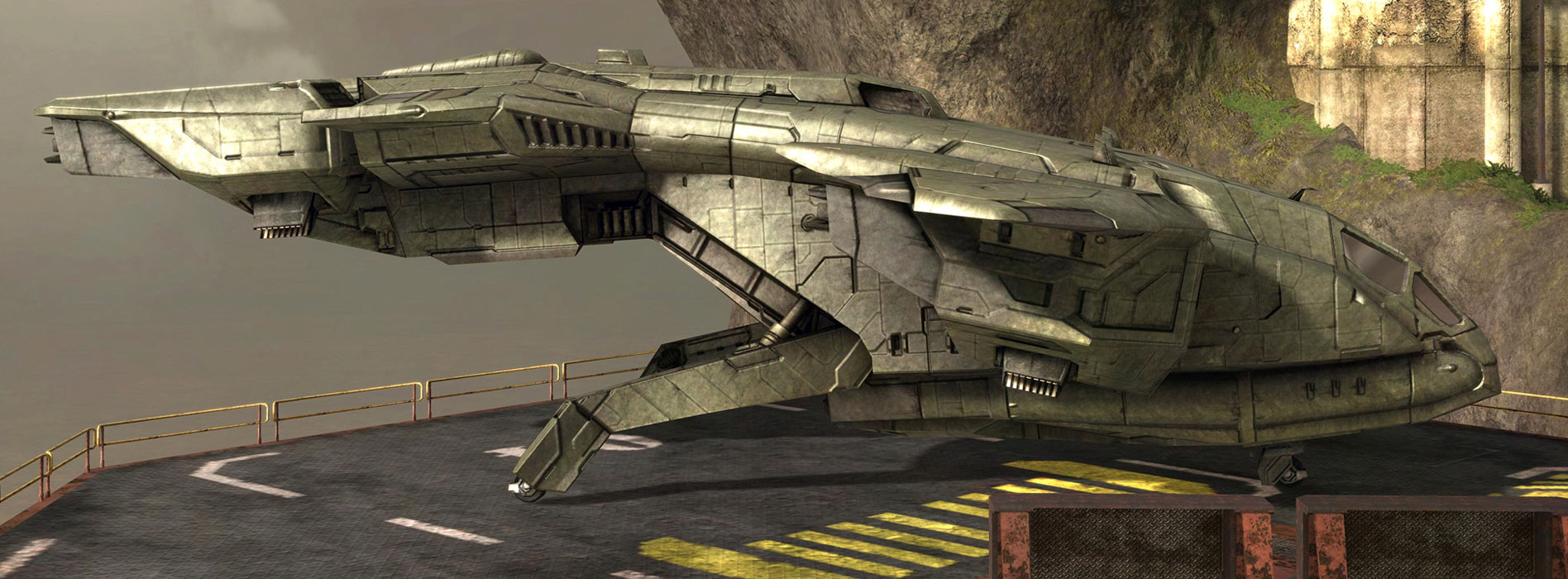 Up Close With The Pelican And Ccs Battlecruiser