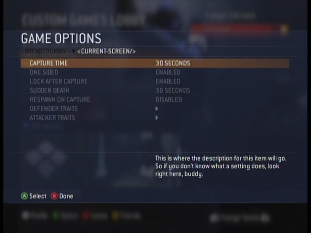 Gamer Option